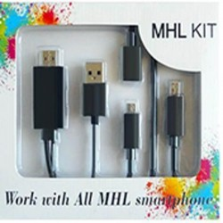 کابل تبدیل HDMI to Micro USB MHL