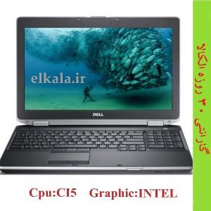 لپ تاپ استوک DELL E6530 - 1