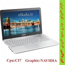 لپ تاپ دست دوم Asus N551JX