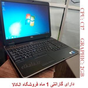 لپ تاپ دست دوم DELL Latitude E6540 - B
