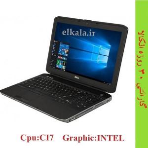 لپ تاپ دست دوم DELL E5530 - i7