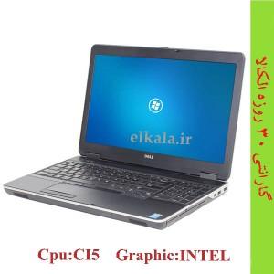 لپ تاپ دست دوم DEL  E6540 - full hd