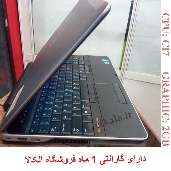 لپ تاپ کارکرده دل 6540