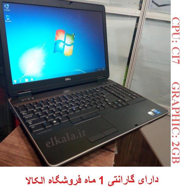 لپ تاپ استوک دل 6540