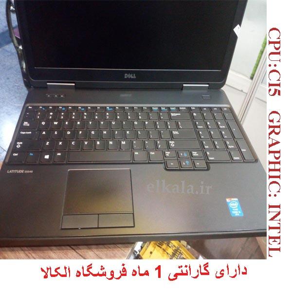 لپ تاپ کارکرده دل مدل 540