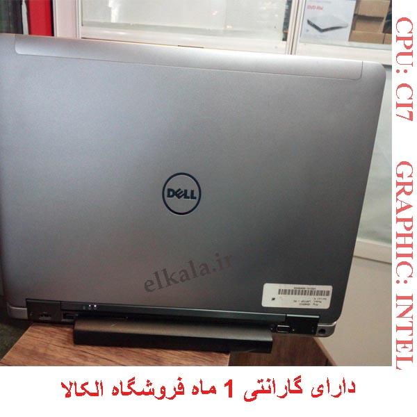 لپ تاپ کارکرده دل dell 6540
