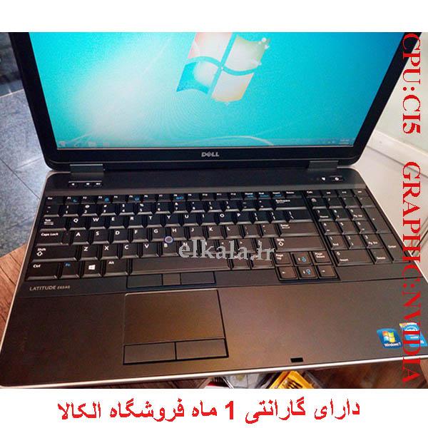 لپ تاپ استوک صنعتی دل dell e6540