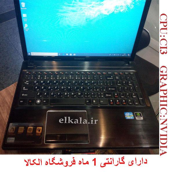 لپ تاپ دست دوم lenovo g550